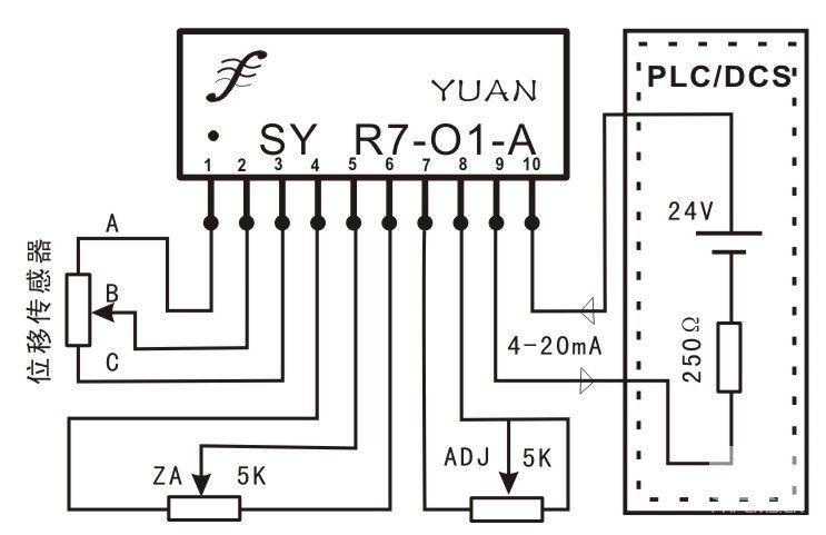非隔离型高精度电压信号无源配电器
